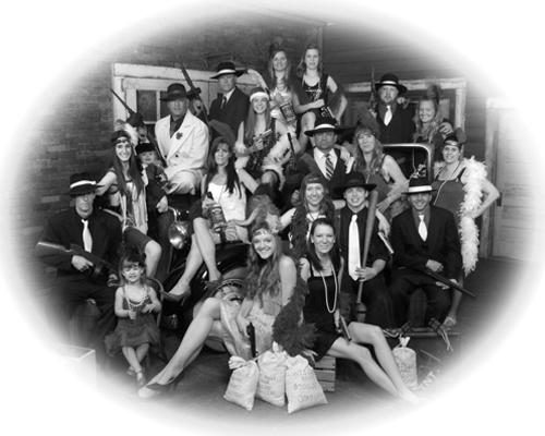 Vintage Style Group Portrait