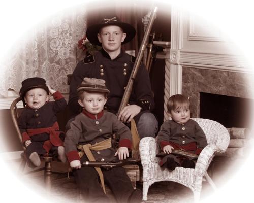 Civil War Style Image