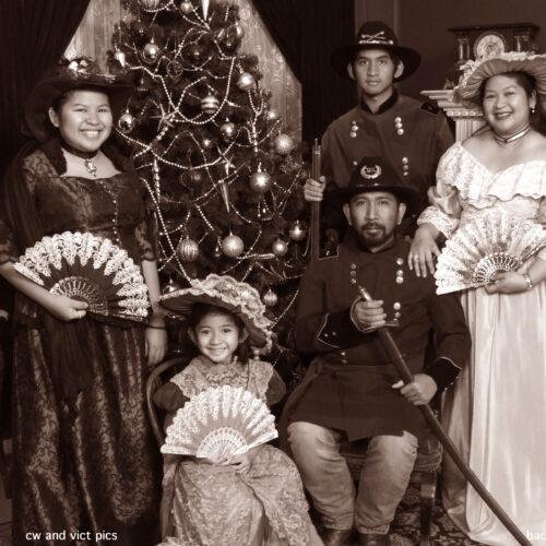 Victorian/Civil Family Photo