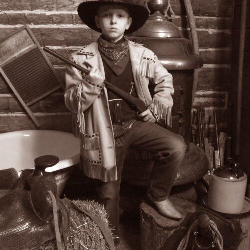 Kid with Gun Shoot