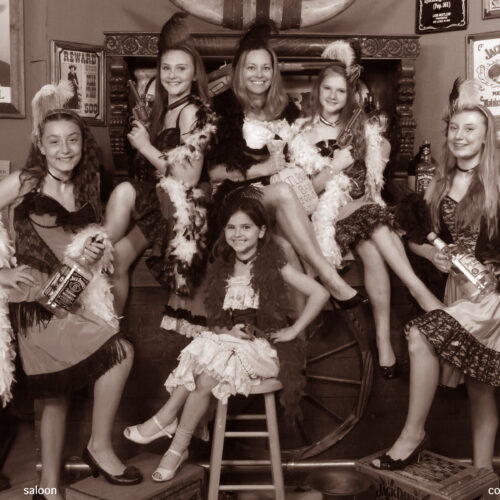 Ladies in Vintage Style