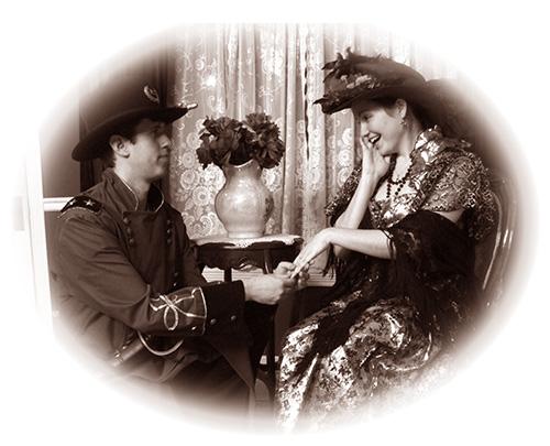 Couple in Engagement Portrait