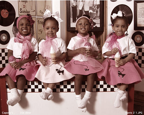 Cute Little Girls 50s Outfit
