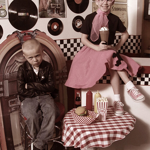 Boy and Girl 50s Outfit