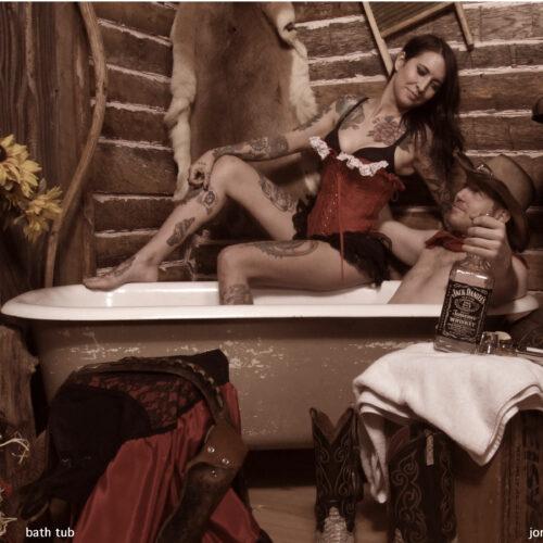 Intimate Tub Photoshoot