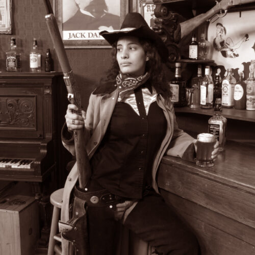 Lady with Gun