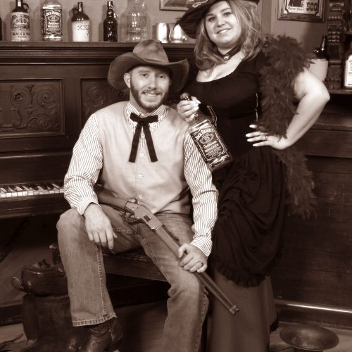 Boy With a Gun and Girl With Liquor