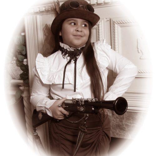 Cute Steampunk Kid