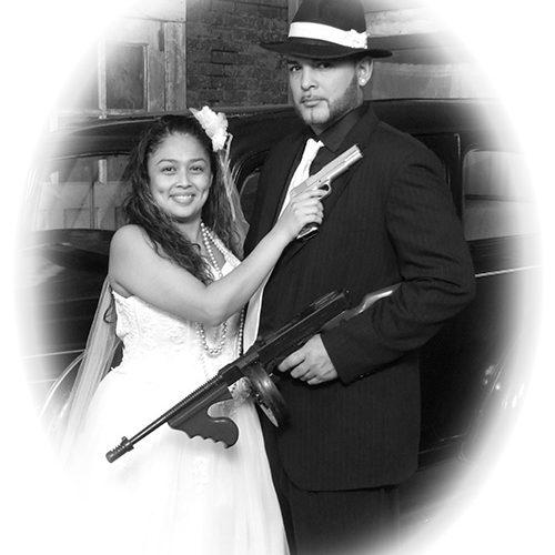 Themed Wedding Portrait