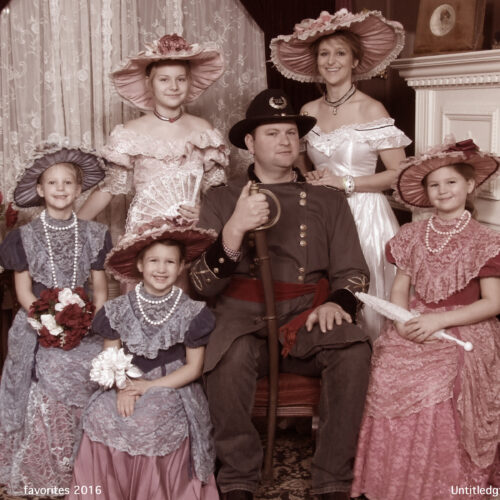 Civil/Victorian Themed Family Picture