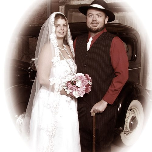 Vintage Wedding Themed